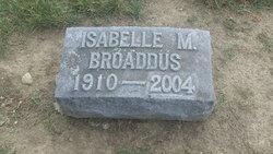 Isabelle M <i>Riggs</i> Broaddus