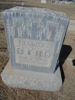 Frances Ella <i>Lawhon</i> Byrd