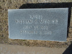 William R Musick