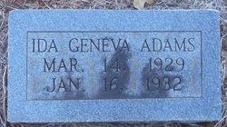 Ida Geneva Adams