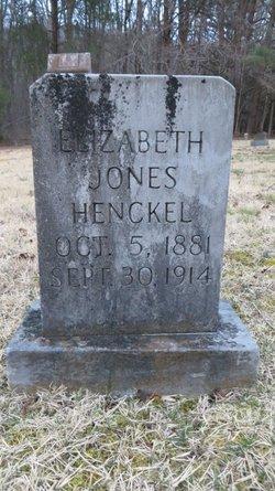 Elizabeth <i>Jones</i> Henckel