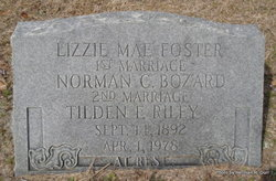 Lizzie Mae <i>Foster</i> Riley