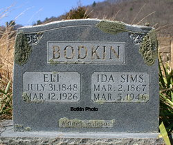 Ida May <i>Sims</i> Bodkin
