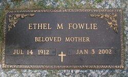 Mrs Ethel M. <i>Hayes</i> Fowlie