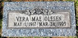 Vera Mae Grandma Vera <i>Thompson</i> Olesen