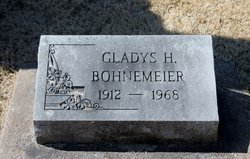 Gladys H. Bohnemeir