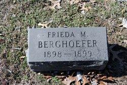 Frieda M. Berghoefer