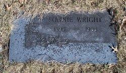 Fonnie <i>Hibbets</i> Wright