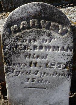 Harvey Bowman