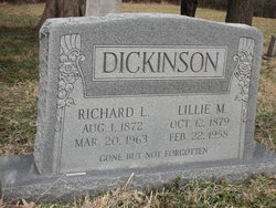 Richard L Dickinson