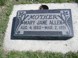 Mary Jane <i>Blood</i> Allen