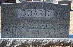 Lillie <i>Huffine</i> Board
