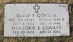 Marjorie E. <i>Wayne</i> Gouker