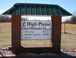High Plains United Methodist Church Cemetery