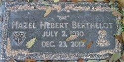 Hazel Bae <i>Hebert</i> Berthelot