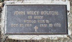 John Wiley Bolton