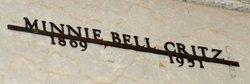 Minnie <i>Bell</i> Critz