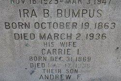 Carrie I <i>Howland</i> Bumpus