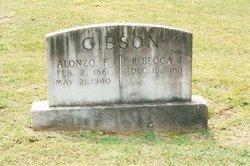 Mrs Rebecca Jane <i>McCollister</i> Gibson