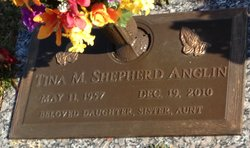 Tina M <i>Shepherd</i> Anglin