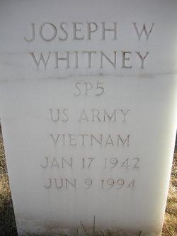 Joseph W Whitney