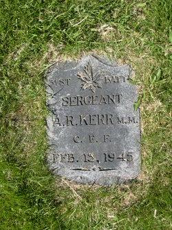 Alexander R. Kerr