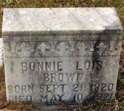 Bonnie Lois Brown