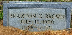 Braxton G. Brown