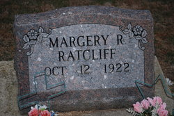 Margery Rose Ratcliff
