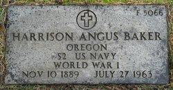 Harrison Augus Baker