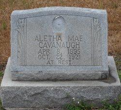 Aletha Mae <i>Baker</i> Cavanaugh