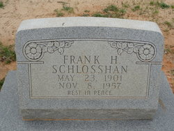 Frank Henry Schlosshan