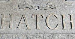 Edith <i>Wilcock</i> Hatch