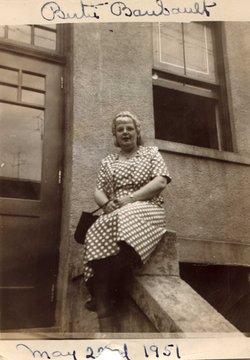 Elberta Elizabeth Bertie <i>Stowe</i> Baribault