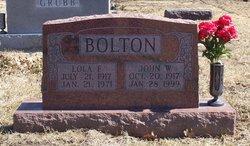 Lola Faye <i>Eichorn</i> Bolton
