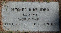 Homer Blake Bender