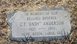 Clarence Festus Andy Anderson, Jr