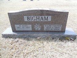 Ralph Connor Bigham