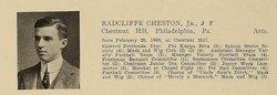Radcliffe Cheston, Jr