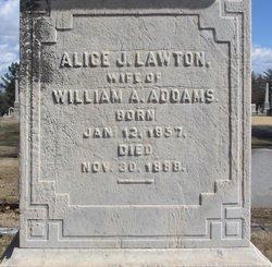 Alice J. <i>Lawton</i> Addams