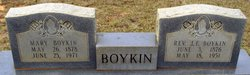 Mary Elizabeth <i>Dobey</i> Boykin