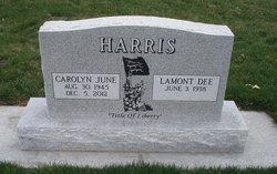Carolyn June <i>West</i> Harris
