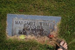 Margaret Catherine <i>Wyatt</i> Brashers