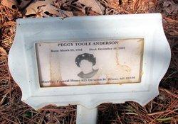 Peggy <i>Toole</i> Anderson