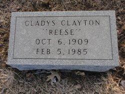 Glady <i>Reese</i> Clayton