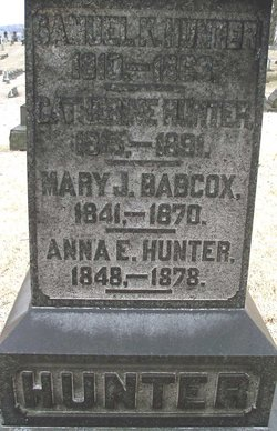 Mary Jane <i>Hunter</i> Babcox