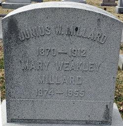Mary Frances <i>Weakley</i> Millard