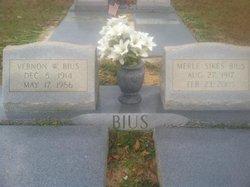 Merle <i>Sikes</i> Bius