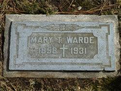 Mary Teresa <i>Adderley</i> Warde