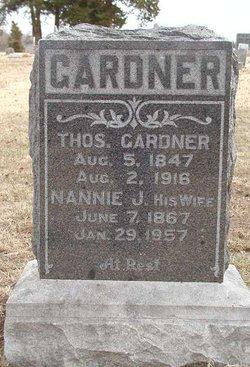 Nannie J. Gardner